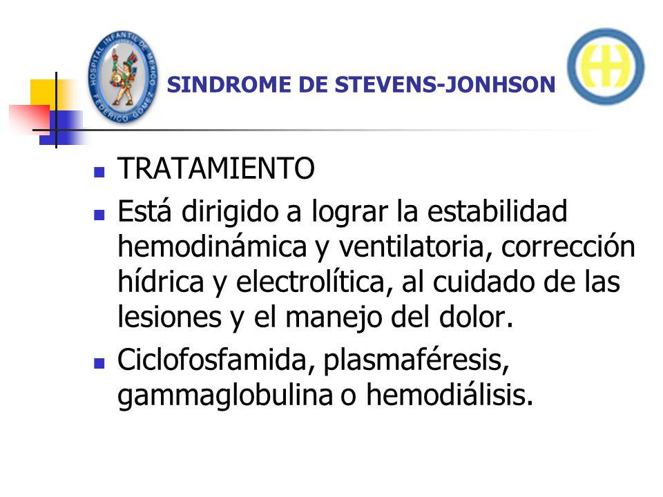 SINDROME DE STEVENS-JONHSON