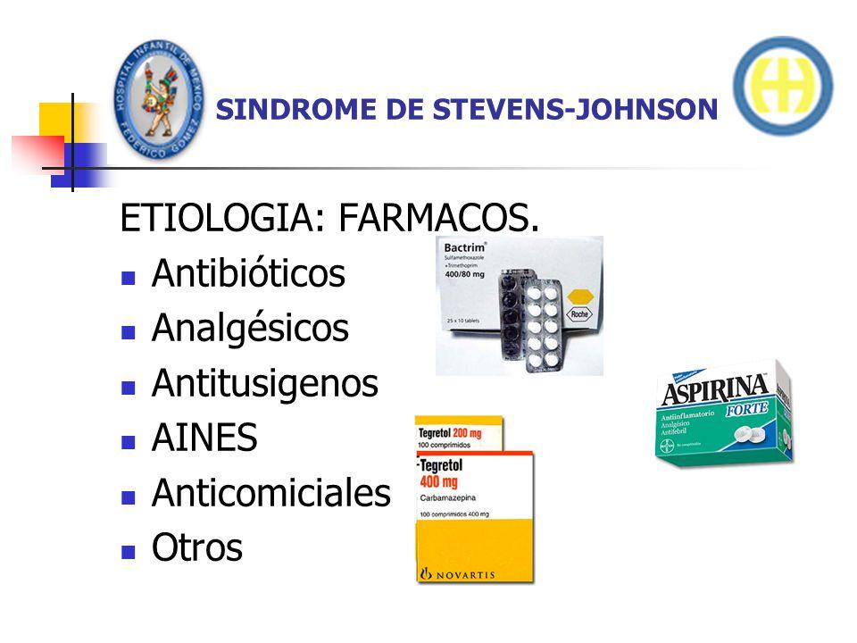SINDROME DE STEVENS-JOHNSON