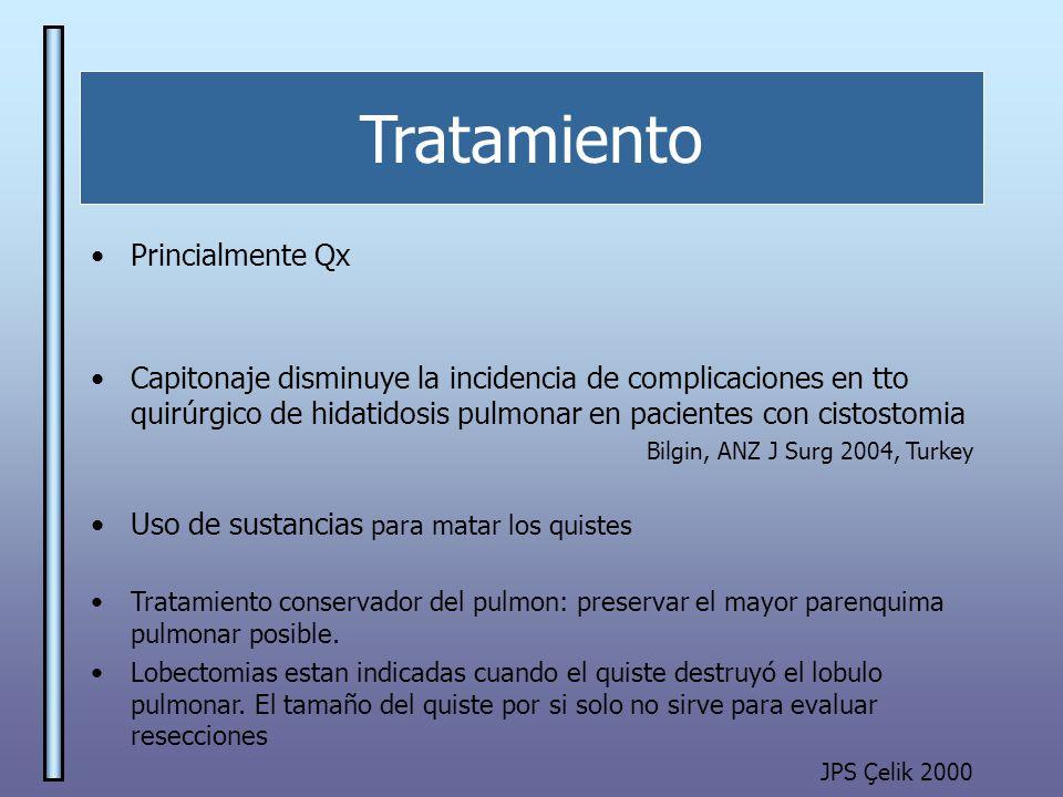 Tratamiento Princialmente Qx