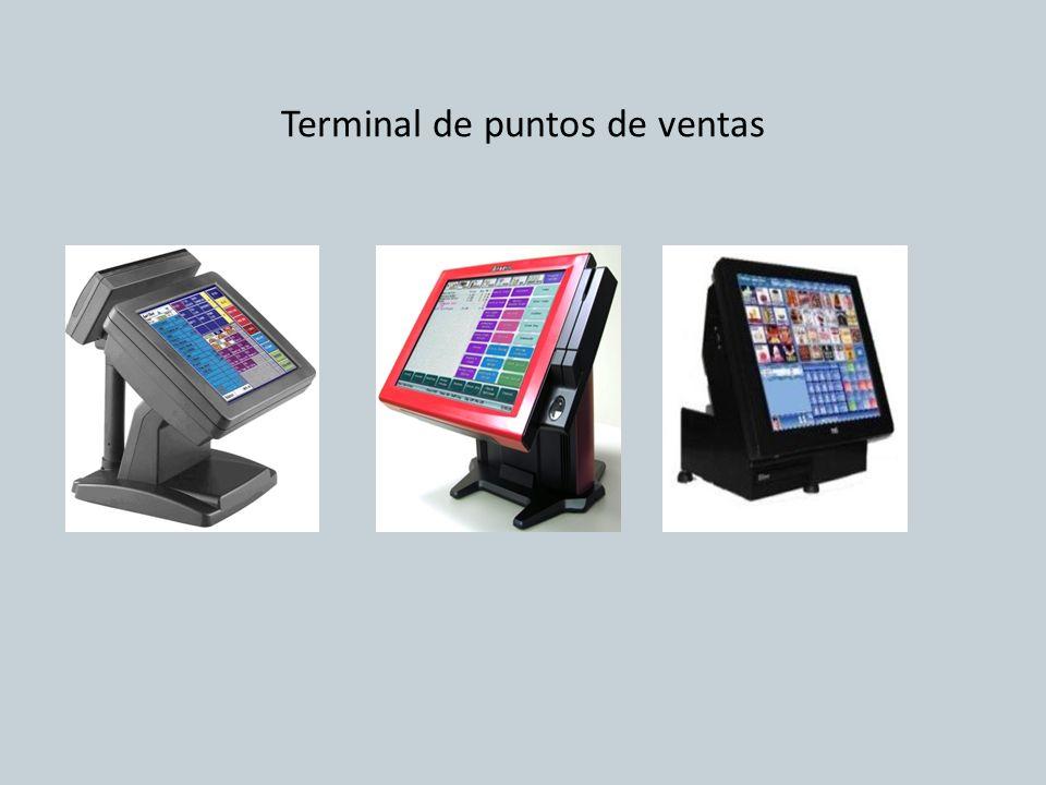 Terminal de puntos de ventas