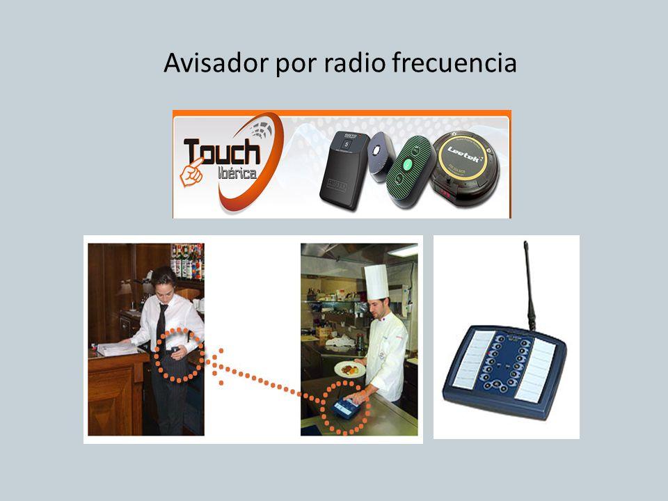 Avisador por radio frecuencia