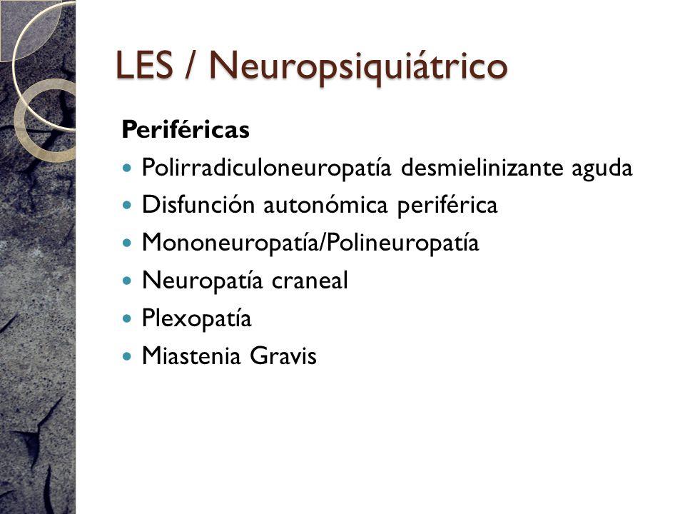LES / Neuropsiquiátrico