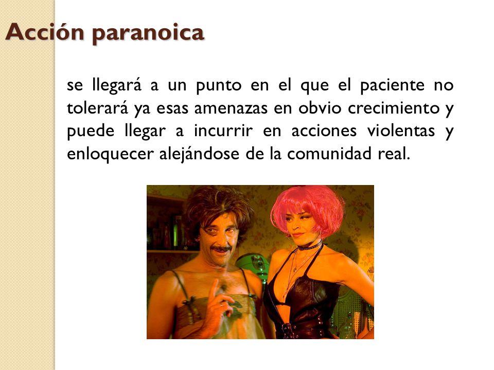 Acción paranoica