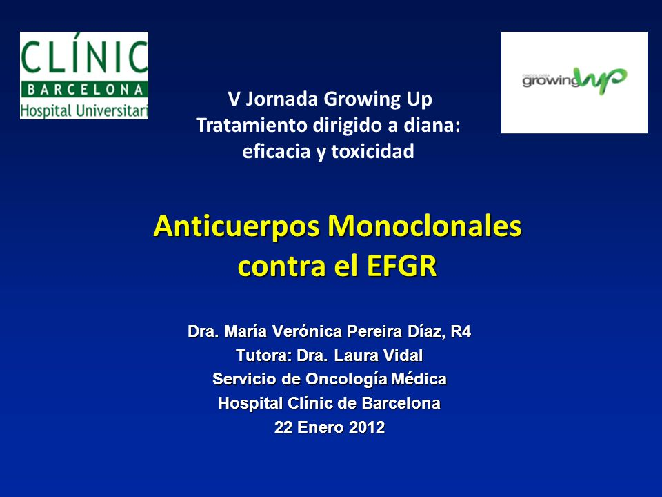 Anticuerpos Monoclonales contra el EFGR