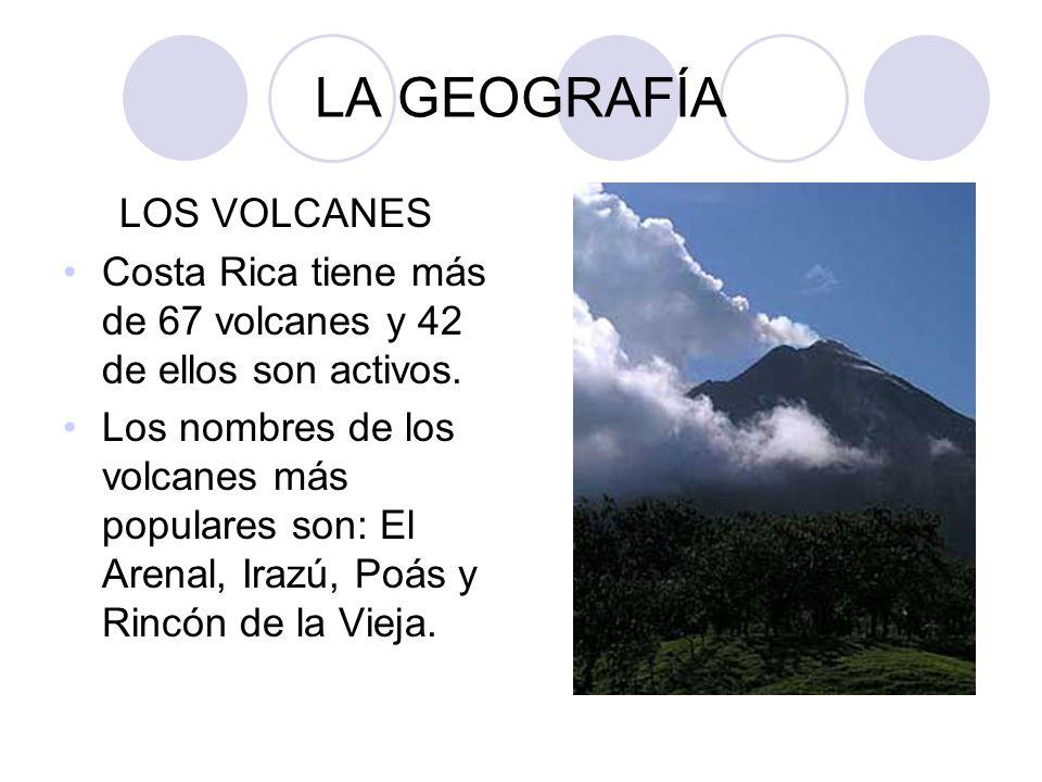 LA GEOGRAFÍA LOS VOLCANES