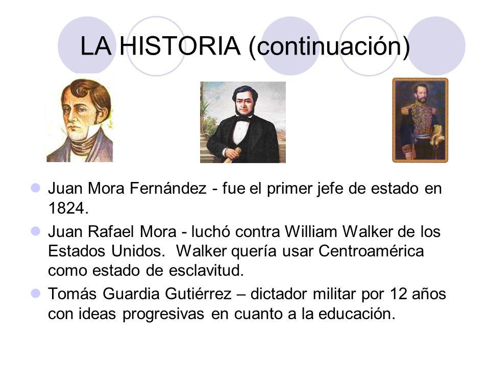 LA HISTORIA (continuación)