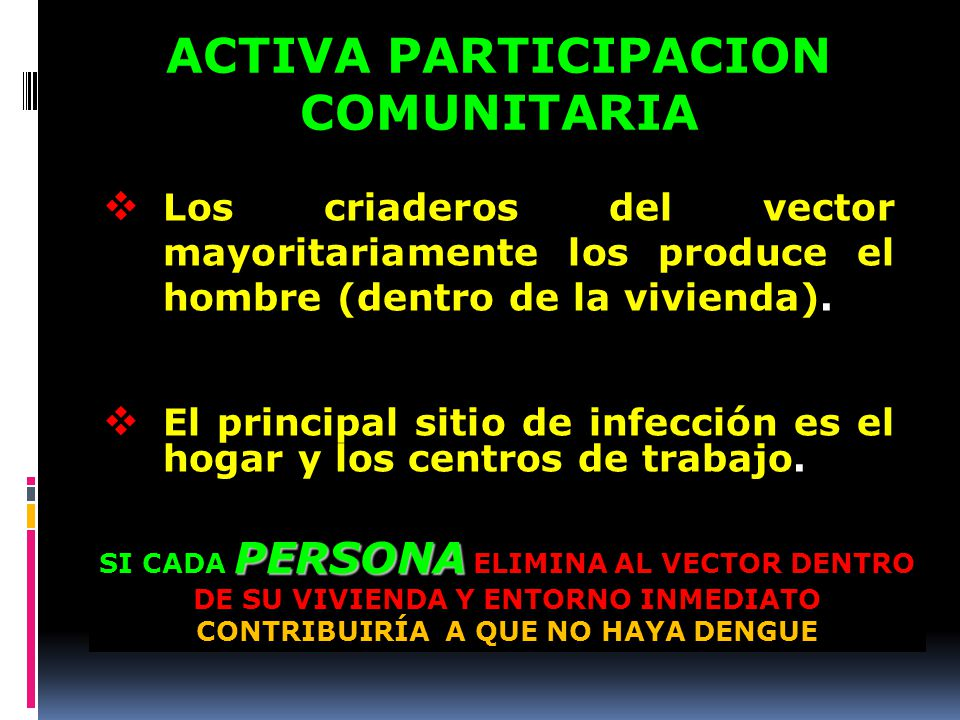 ACTIVA PARTICIPACION COMUNITARIA