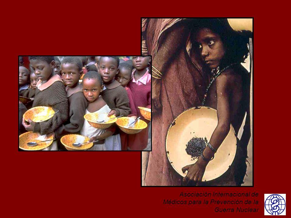 En este momento, estamos bien preparados para hacerle frente a una importante caída de la oferta mundial de alimentos.En junio de 2013, la Organización de las Naciones Unidas para la Agricultura y la Alimentación estimó que las existencias de cereales eran 509 millones de toneladas métricas, un 21% del consumo anual de 2.339 millones de toneladas métricas. Expresada en días de consumo, esta reserva duraría 77 días. En 2012, la Organización para la Agricultura y la Alimentación de la ONU estimó que 870 millones de personas en el mundo padecen desnutrición. Ante esta precaria situación, incluso pequeñas reducciones adicionales en la producción de alimentos podrían tener repercusiones importantes. Las reservas actuales de granos no brindan ningún tipo de reserva significativa en el caso de una fuerte disminución de la producción mundial.