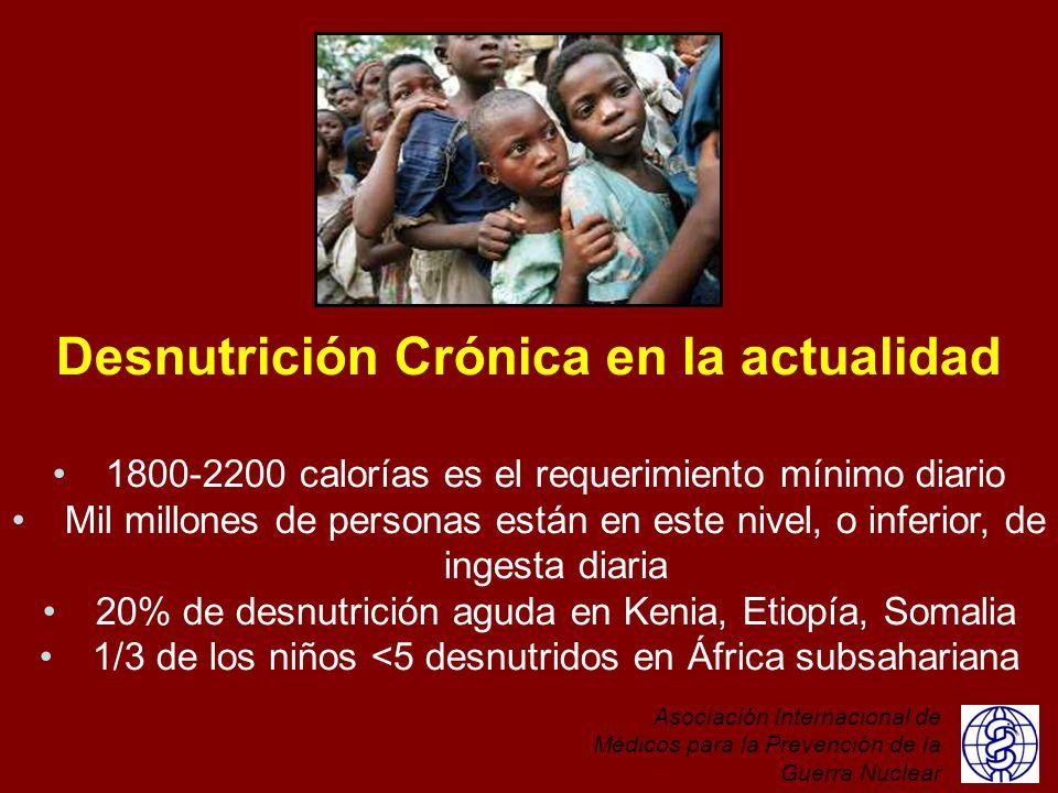 Desnutrición Crónica en la actualidad