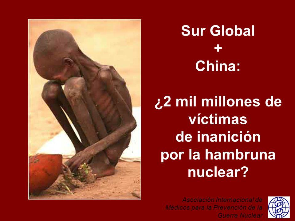 ¿2 mil millones de víctimas por la hambruna nuclear