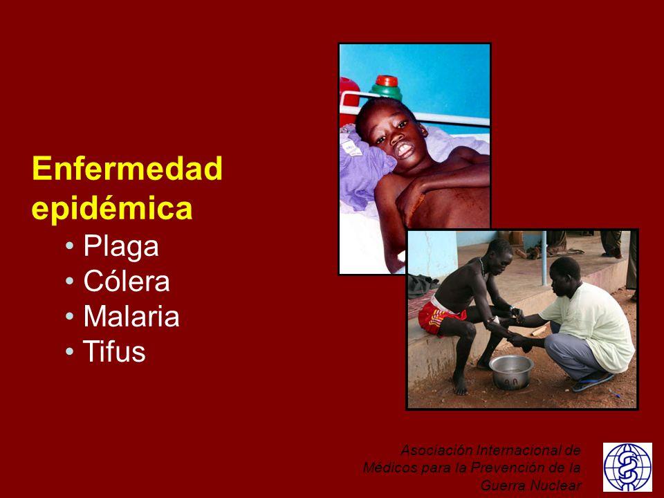 Enfermedad epidémica Plaga Cólera Malaria Tifus