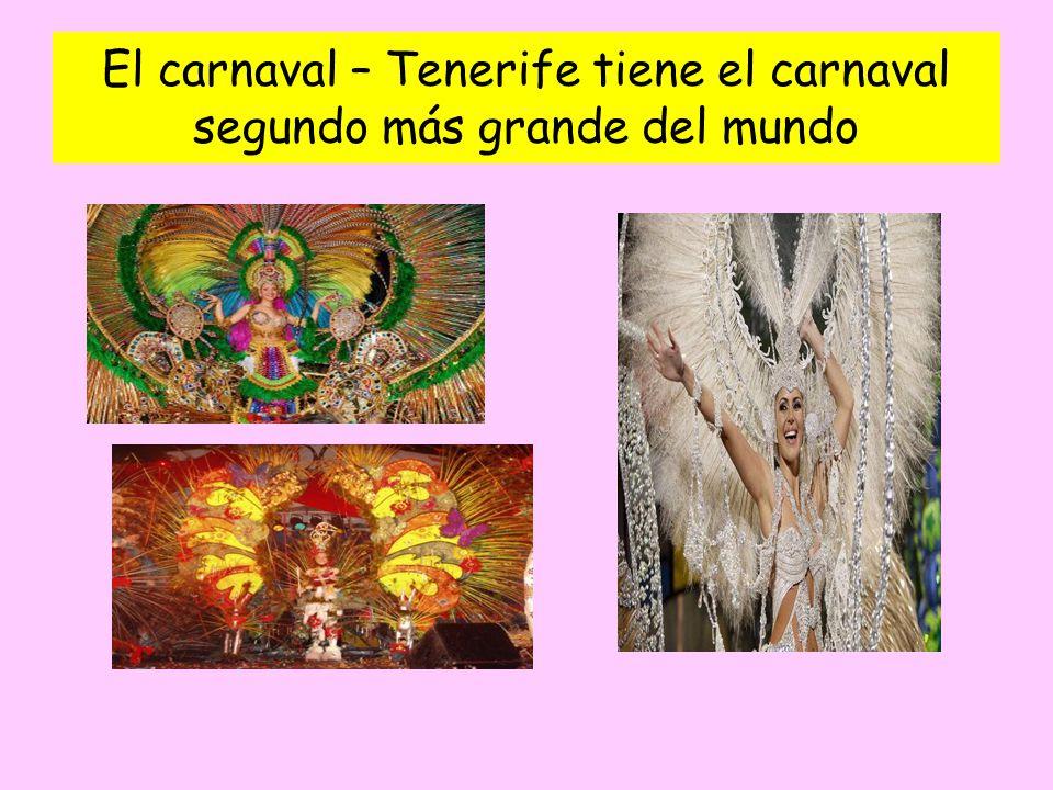 El carnaval – Tenerife tiene el carnaval segundo más grande del mundo