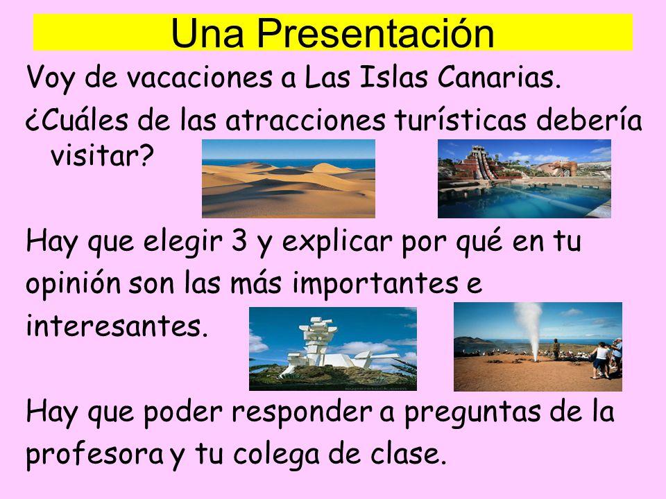 Una Presentación