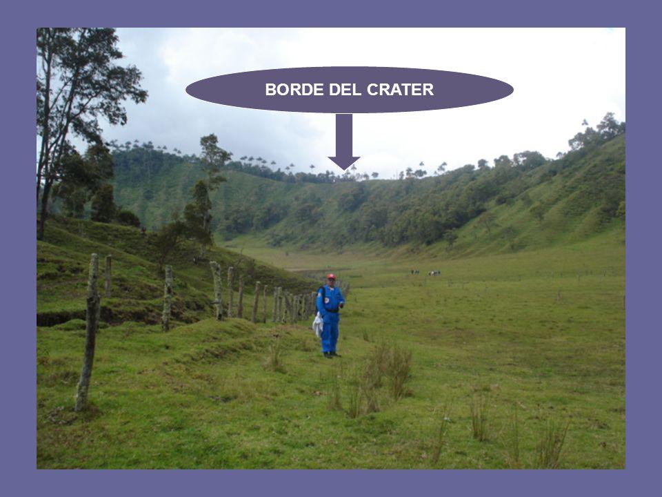 BORDE DEL CRATER