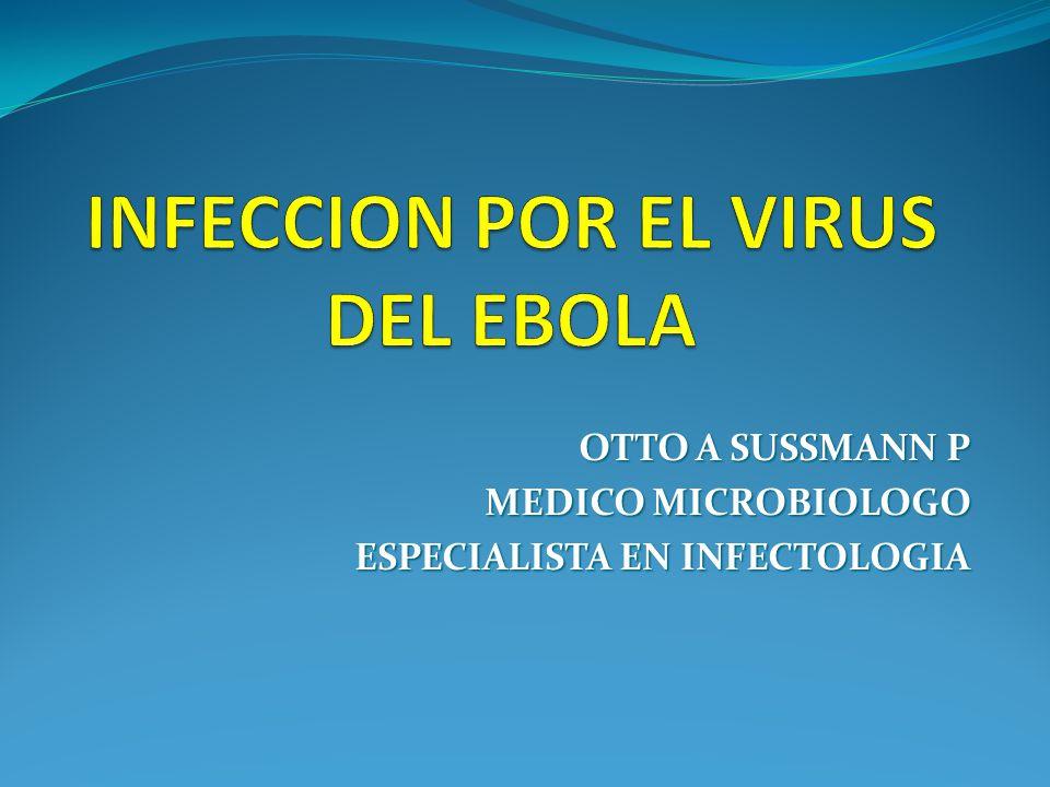 INFECCION POR EL VIRUS DEL EBOLA