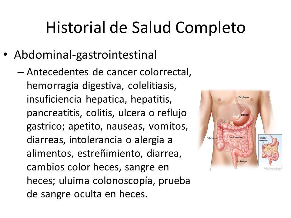 Historial de Salud Completo