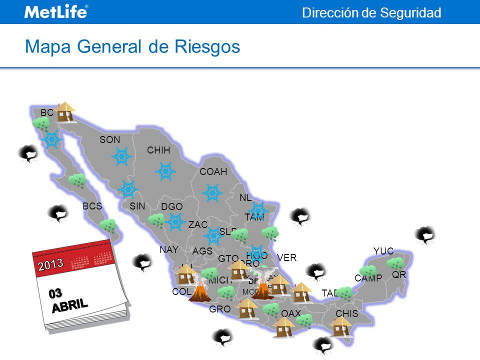 Mapa General de Riesgos