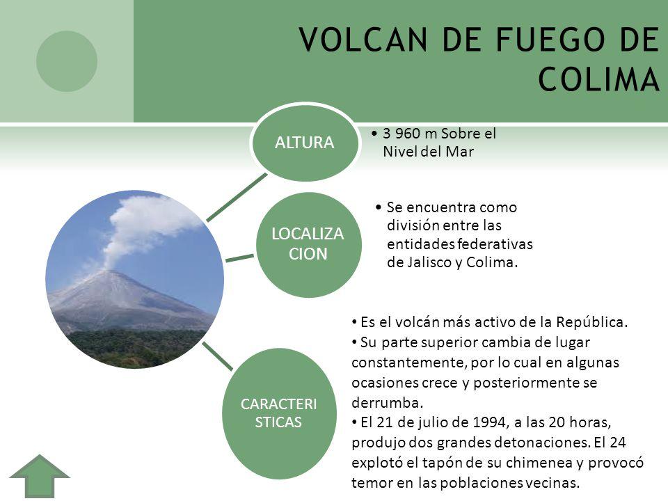 VOLCAN DE FUEGO DE COLIMA