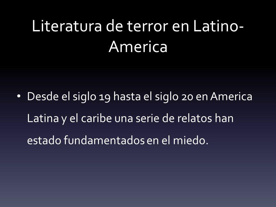 Literatura de terror en Latino-America