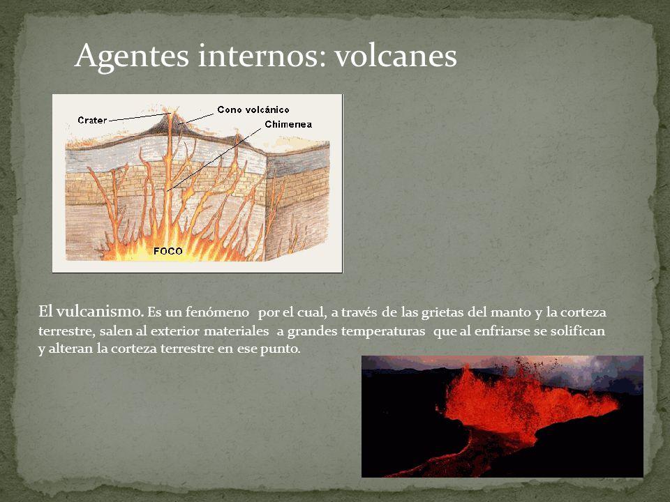 Agentes internos: volcanes