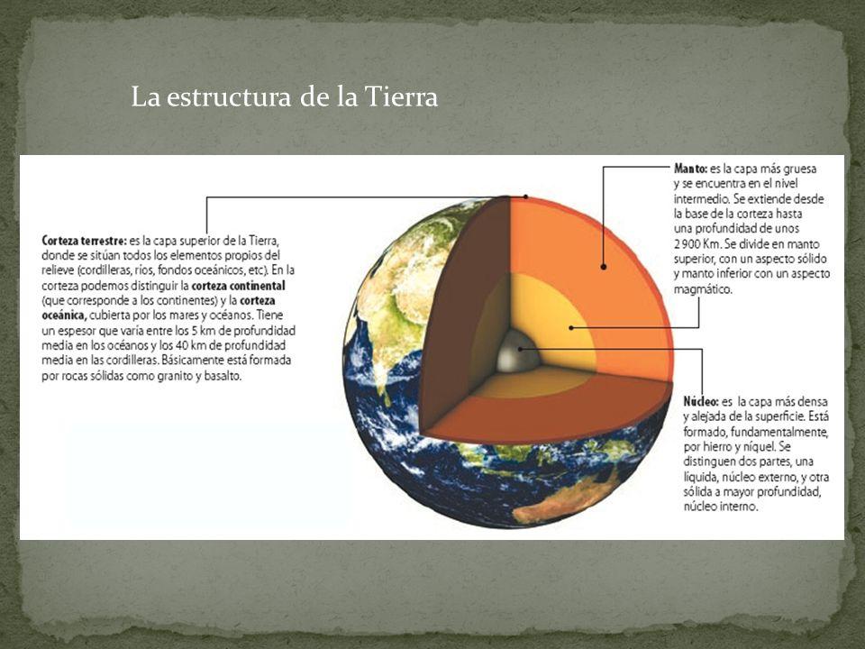 La estructura de la Tierra