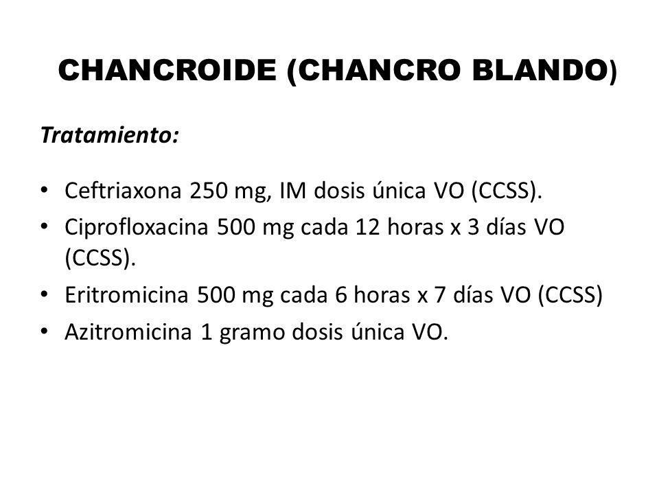 CHANCROIDE (CHANCRO BLANDO)