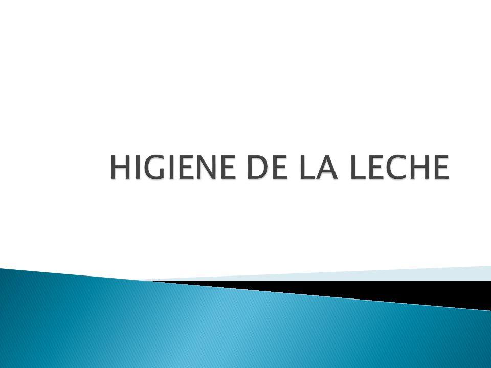 HIGIENE DE LA LECHE