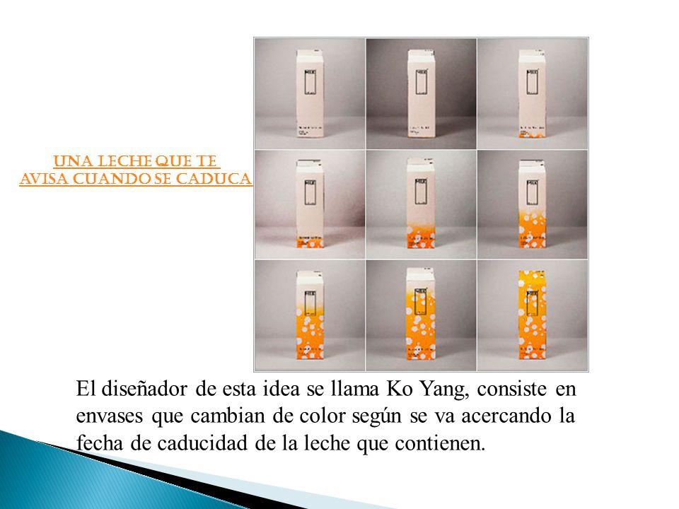 El diseñador de esta idea se llama Ko Yang, consiste en