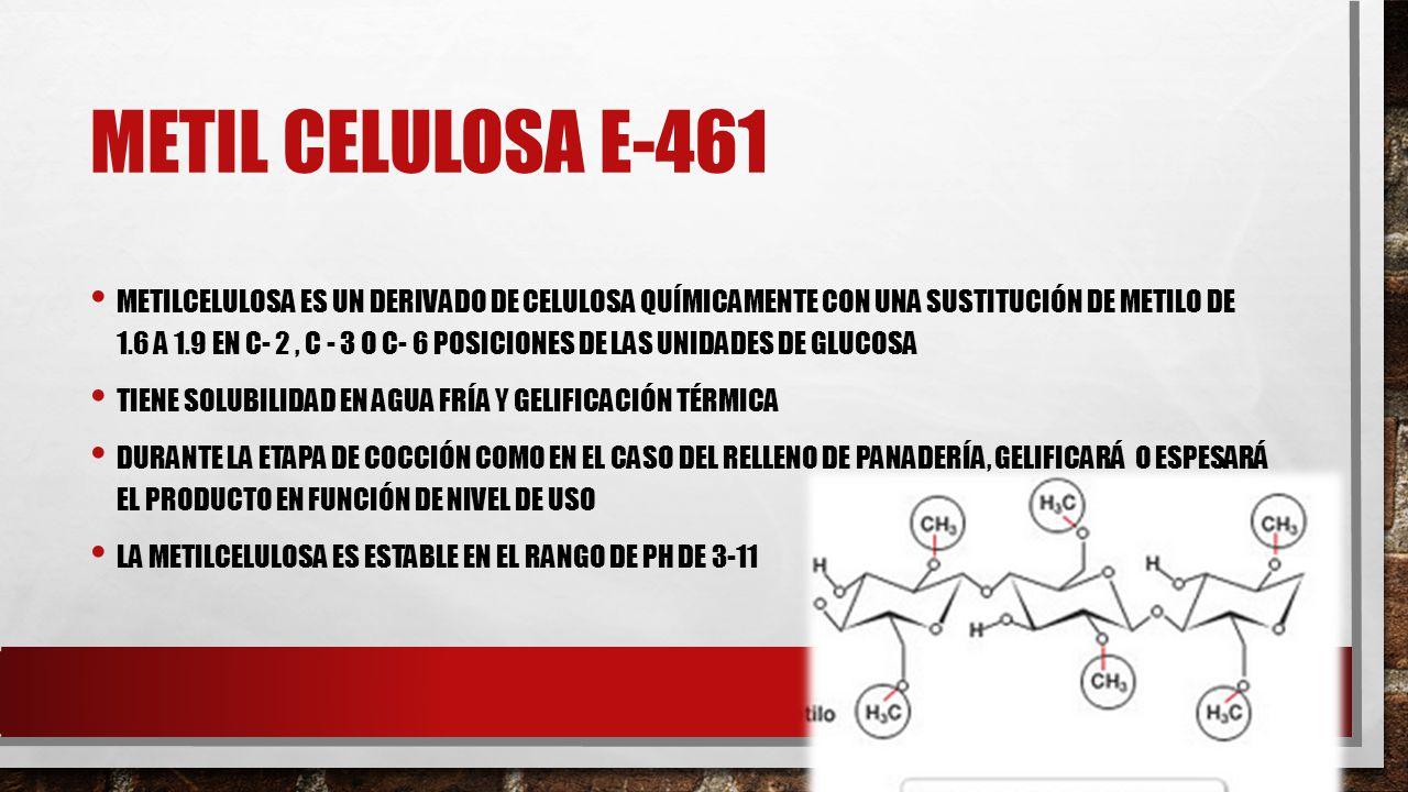 METIL CELULOSA E-461