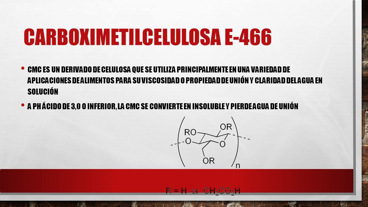 CARBOXIMETILCELULOSA E-466