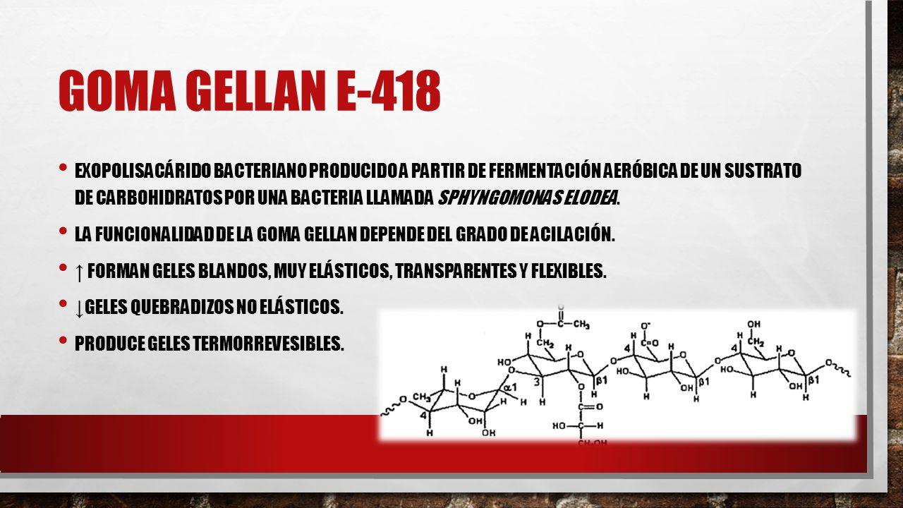 Goma GELLAN E-418