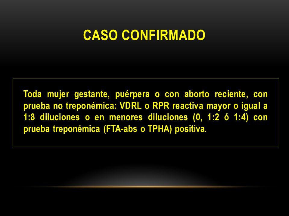 CASO CONFIRMADO
