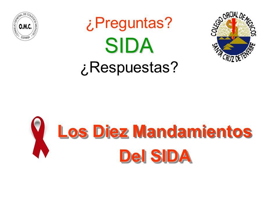 ¿Preguntas SIDA ¿Respuestas