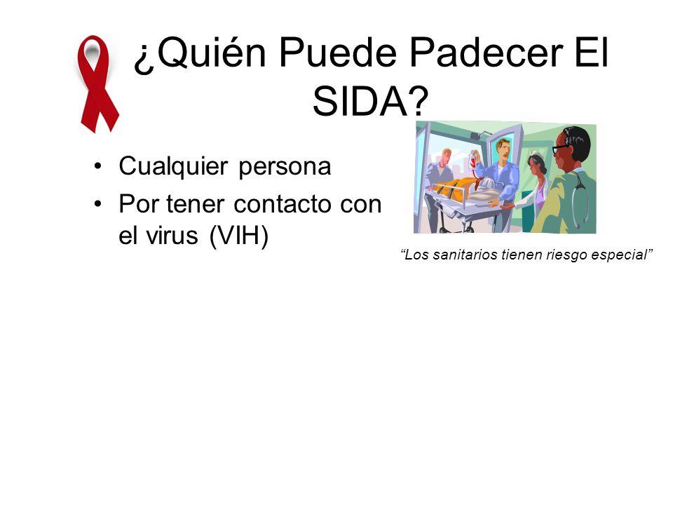¿Quién Puede Padecer El SIDA