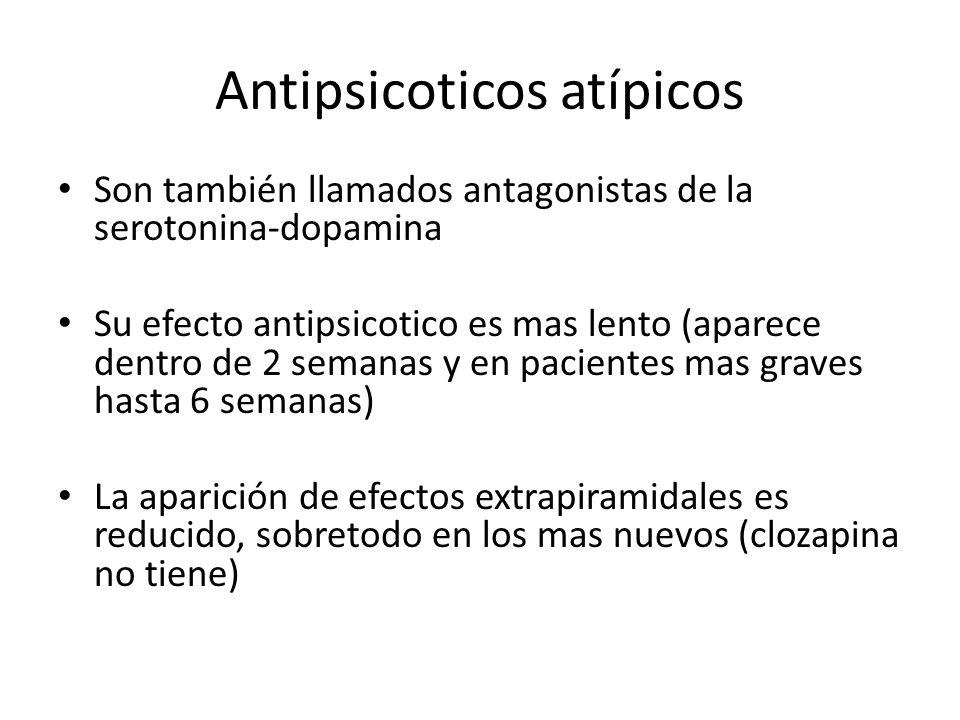 Antipsicoticos atípicos