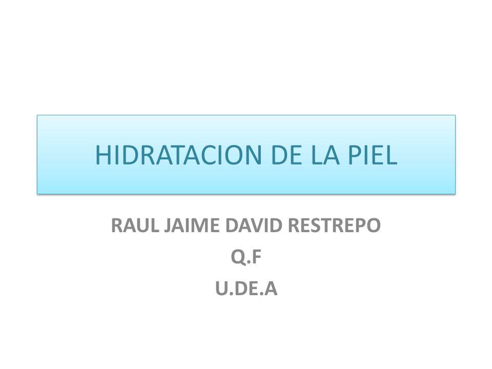 RAUL JAIME DAVID RESTREPO Q.F U.DE.A