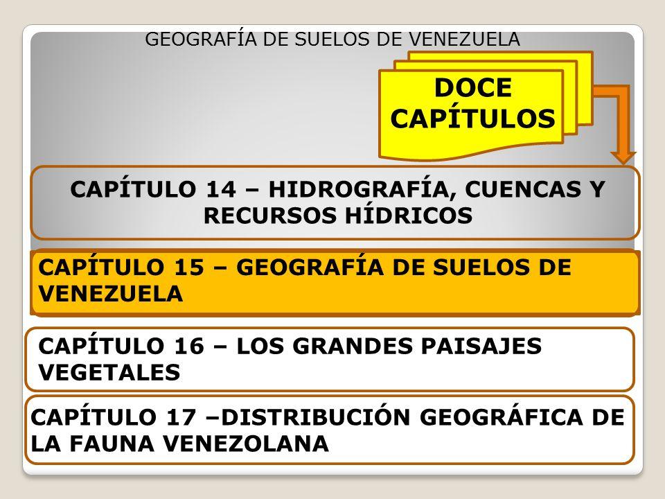 CAPÍTULO 14 – HIDROGRAFÍA, CUENCAS Y RECURSOS HÍDRICOS