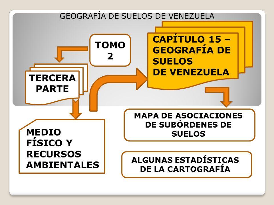 CAPÍTULO 15 – GEOGRAFÍA DE SUELOS DE VENEZUELA TOMO 2