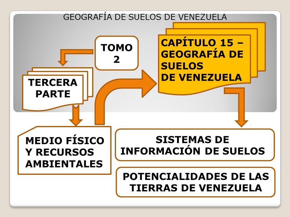 CAPÍTULO 15 – GEOGRAFÍA DE SUELOS DE VENEZUELA