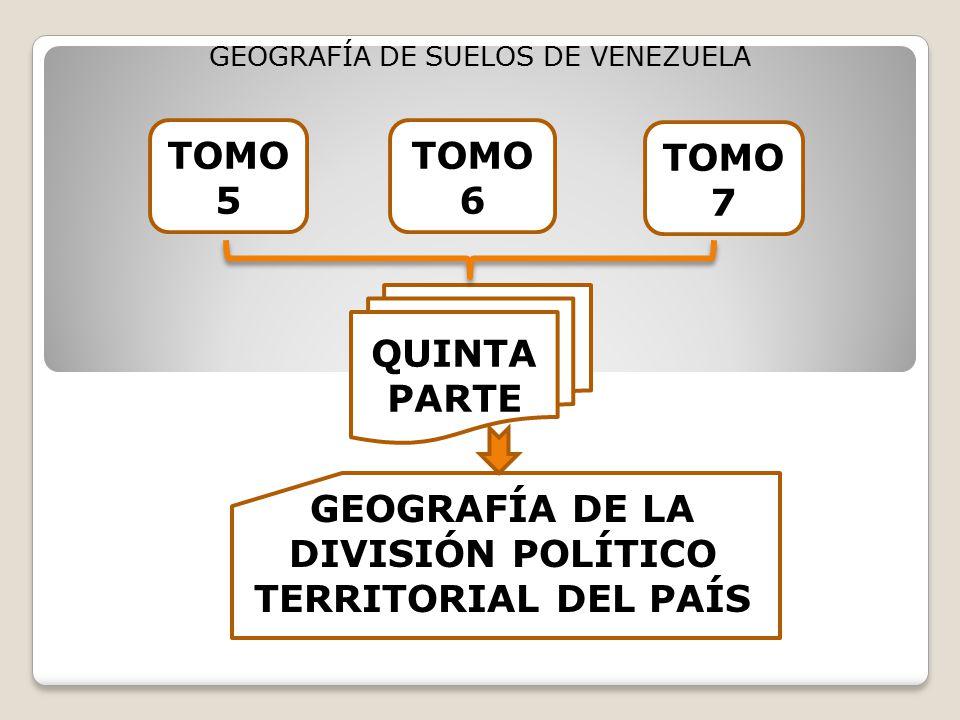 GEOGRAFÍA DE LA DIVISIÓN POLÍTICO TERRITORIAL DEL PAÍS