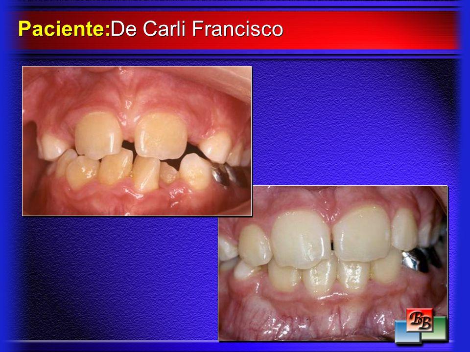 Paciente: De Carli Francisco
