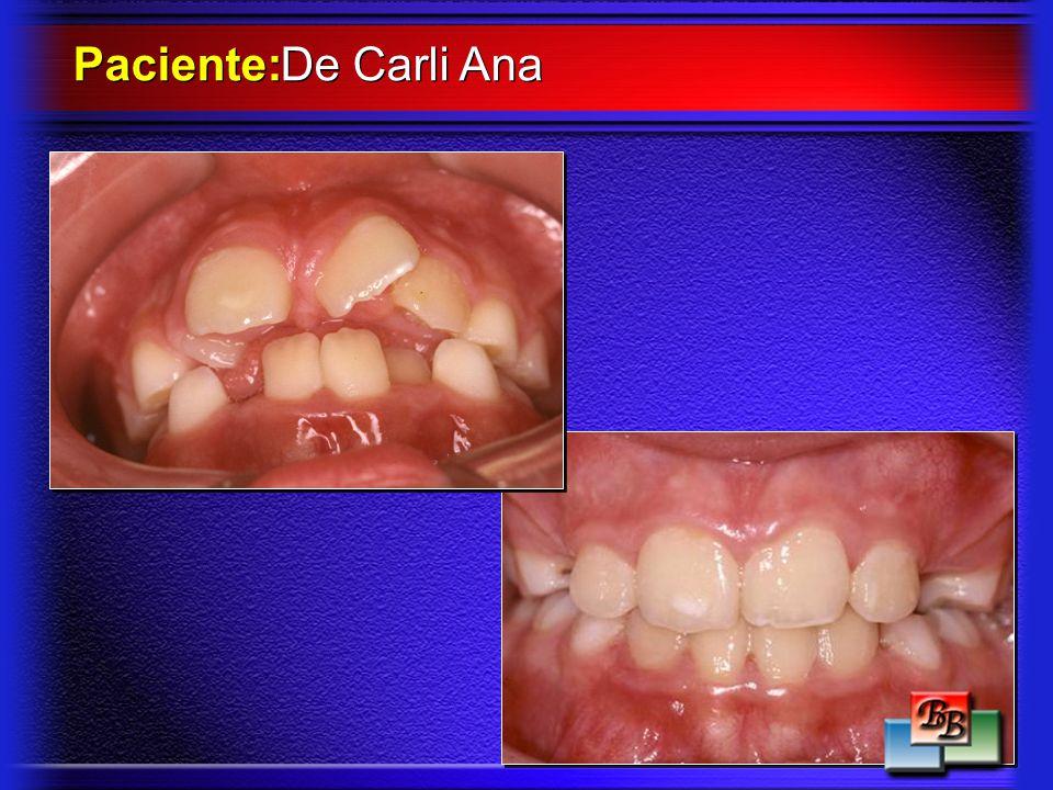 Paciente: De Carli Ana