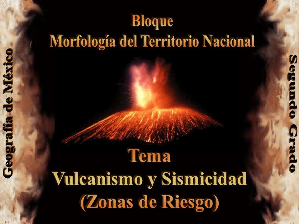 Morfología del Territorio Nacional Vulcanismo y Sismicidad