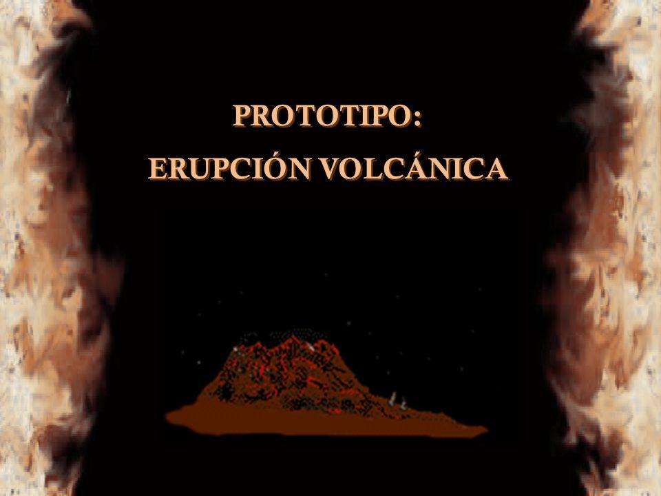 PROTOTIPO: ERUPCIÓN VOLCÁNICA