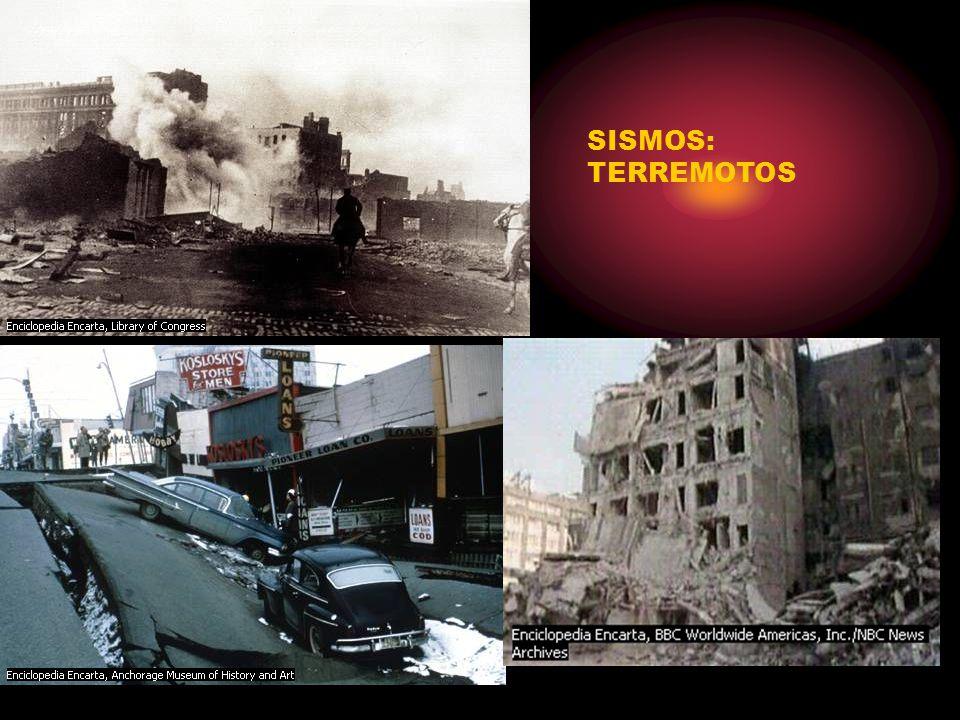 SISMOS: TERREMOTOS