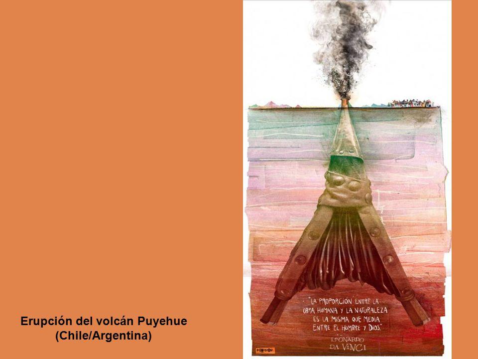 Erupción del volcán Puyehue (Chile/Argentina)