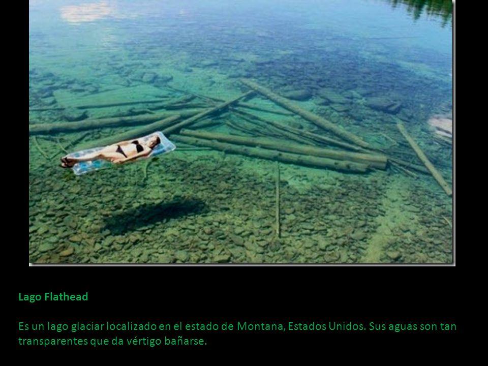 Lago Flathead Es un lago glaciar localizado en el estado de Montana, Estados Unidos.