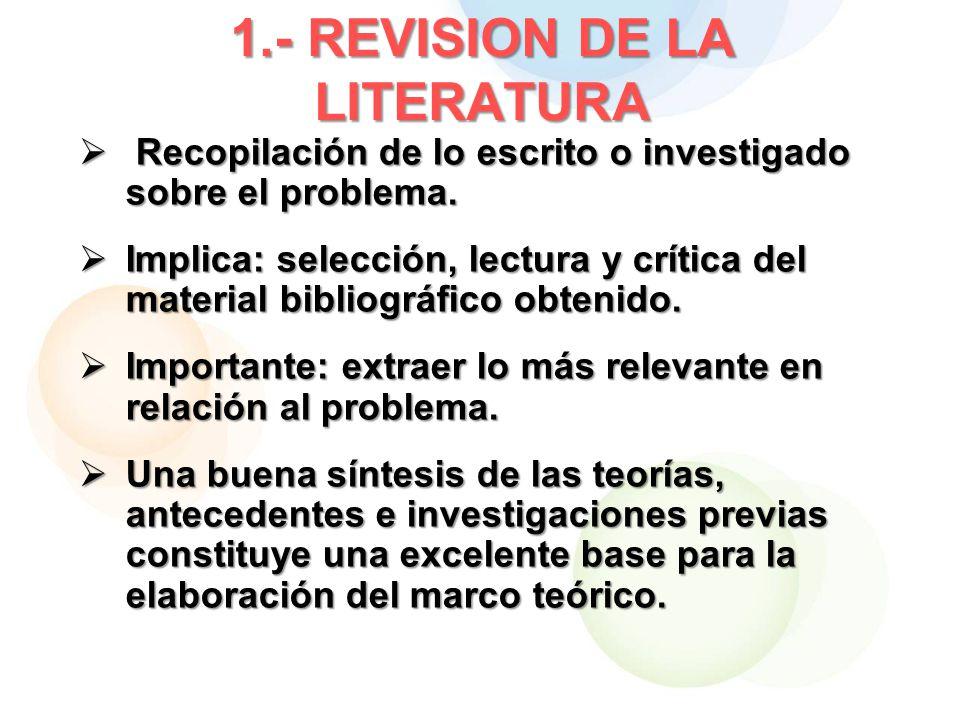 1.- REVISION DE LA LITERATURA
