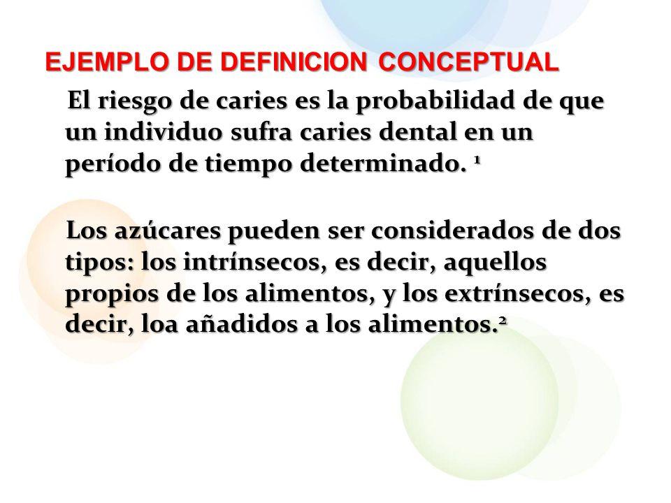 EJEMPLO DE DEFINICION CONCEPTUAL