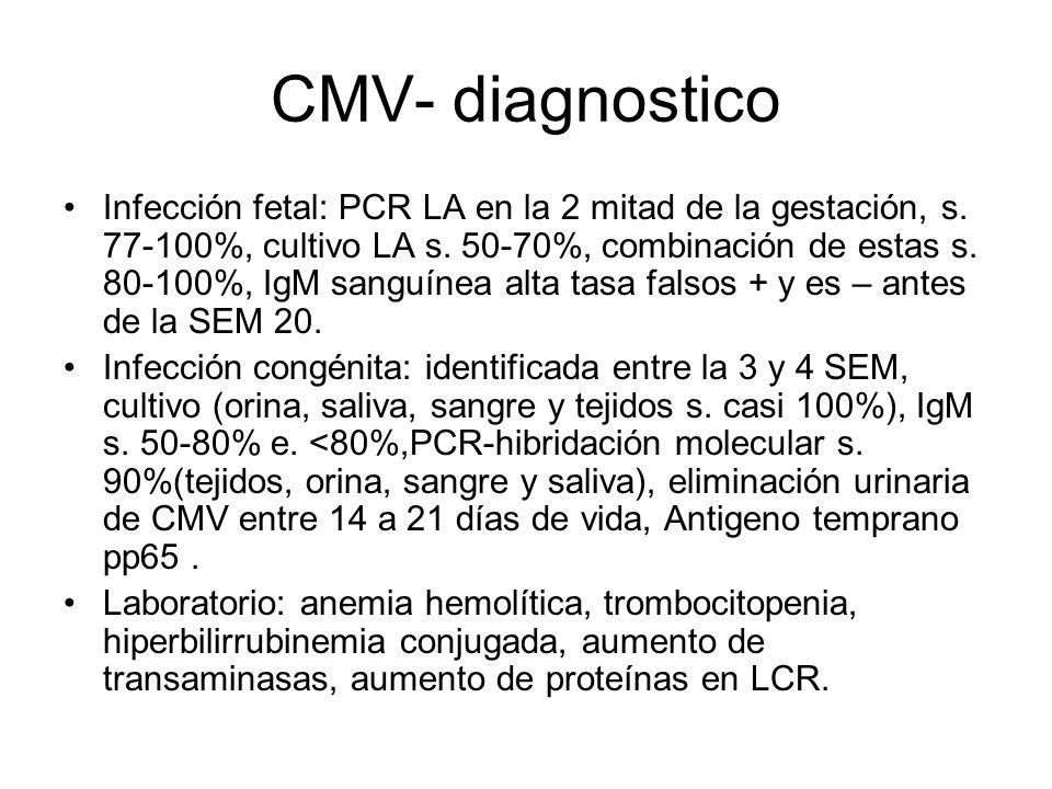 CMV- diagnostico